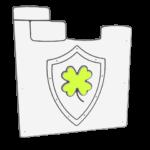 herb -limonkowy zamek