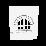 zamkowe -limonkowy zamek